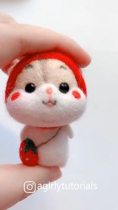 10 Awesome And Unique DIY Dolls You Can Make At Home Part 2 - The Effective Pictures We Offer You About diy crafts A quality picture can tell you many things. Needle Felting Tutorials, Needle Felting Kits, Needle Felted Animals, Wet Felting, Felt Animals, Fabric Crafts, Sewing Crafts, Muñeca Diy, Easy Diy