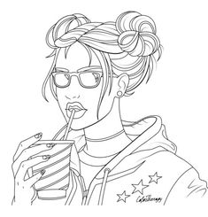 The #sneakpeek for the next Gift of The Day tomorrow. Do you like this one? #Cool #Lady #With #Buns ********** Don't forget to check it out tomorrow and show us your creative ideas, color with Color Therapy: http://www.apple.co/1Mgt7E5 ********** #happycoloring #giftoftheday #gotd #colortherapyapp #coloring #adultcoloringbook #adultcolouringbook #colorfy #colorfyapp #recolor #recolorapp #coloringmasterpiece #coloringbook #coloringforadults #pigmentapp #sandbox