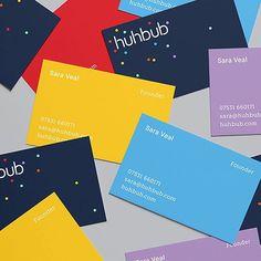 Huhbub corporate identity by @fiasco_design #identity #branding #brand #logo #logotype #new #modern #minimal #beautiful #beauty #stationery #playful #corporatedesign #design #minimal #mindsparklemag