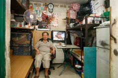 "MICHAEL WOLF PHOTOGRAPHY- 100x100 | Shek Kip Mei Estate | ""an investigation into the use of limited space."""