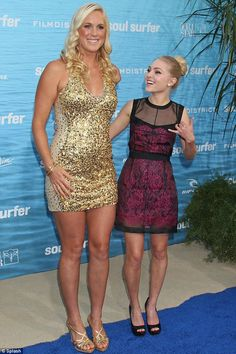 Bethany Hamilton Soul Surfer Movie | ... Bethany Hamilton and AnnaSophia Robb at the premiere of Soul Surfer