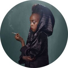 Frieke Janssens Smoking Children Photography