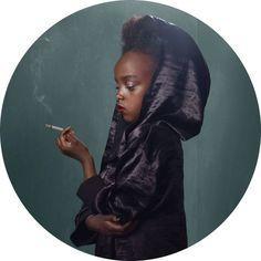 Smoking Kids by Frieke Janssens