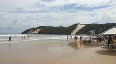 Praia de Ponta Negra e o Morro do Careca.
