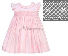 Light pink geometric and tiny flower girl smocked dress - LD 092 http://lewave.co.uk/Detail-light-pink-geometric-and-tiny-flower-girl-smocked-dress---ld-092-4067.aspx