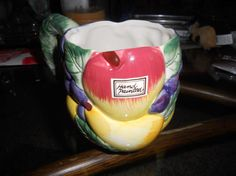 Authenic Fitz and Floyd hand painted mug with original by EMTWTT, $22.99