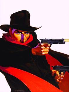 Cap'n's Comics: The Shadow by Jim Steranko