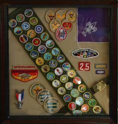 boy scout uniform shadow box - Google Search