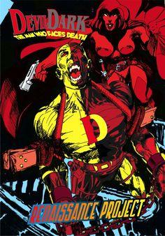 DEVILDEAD est annulé  DEVILDARK reprend la continuité avec d'autres perso du DANTEVERSE... Comic Books, Comics, Cartoons, Cartoons, Comic, Comic Book, Comics And Cartoons, Graphic Novels, Graphic Novels