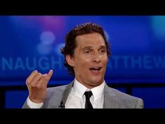 The Origin Of Matthew McConaughey's 'Alright, Alright, Alright' - YouTube (another reason to love him!)