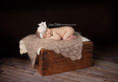 Newborn Baby Blanket,  Newborn Blanket, Tan Blanket, Photo Prop