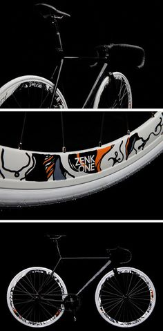 Collaboration Zenk Illustrator & Koga track bike