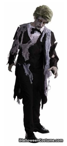 Men's Zombie Formal Costume - Halloween Costumes 2013