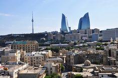 azerbajdzan San Francisco Skyline, New York Skyline, Travel, Viajes, Trips, Tourism, Traveling