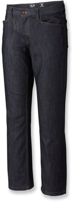 "Mountain Hardwear Male Stretchstone Denim Jeans - Men's 30"" Inseam"