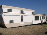 """1959 Tri-level Pacemaker - Many people are buying Vintage Mobile Homes to remodel them, or building/buying Tiny Homes. People are doing this in response to the Recession. It's a greener more authentic way to live on this Earth. It's what's best for future generations. Join us in the newly termed """"Modern Simplicity Movement""""! Proudly post your pics on Pinterest."""