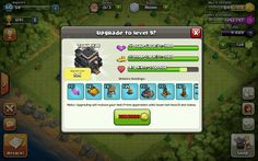 Upgrade town hall to advance as a village