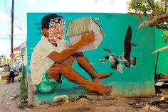 """""""The Guardian"""" by Jade in Holbox, Mexico, 4/15 (LP)"""