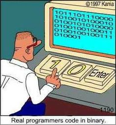 There are 10 types of people in this world. Those who understand binary and those who don't. Programming Humor, Computer Programming, Computer Coding, Computer Jokes, Computer Science, Computer Lab, Tech Humor, 8 Bits, Web Development