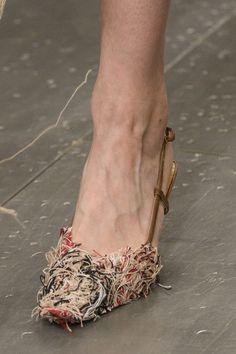 Faustine Steinmetz at London Fashion Week Spring 2018 - Details Runway Photos