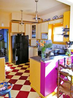218 best bright colors in kitchens images kitchen colors kitchens rh pinterest com