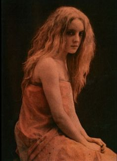 André Hachette Untitled (Sarah Liévine, Shoulders Exposed) After Autochrome From Impressionist Camera: Pictorial Photography in Europe, Retro Photography, Color Photography, Artistic Photography, Auras, Vintage Photographs, Vintage Photos, Subtractive Color, Portraits, Daguerreotype