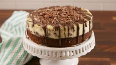 Brownie Bottom Cheesecake  - Delish.com