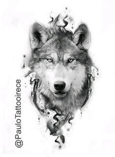 Wolf Tattoo Forearm, Wolf Tattoo Sleeve, Sleeve Tattoos, Tribal Wolf Tattoo, Wolf Tattoo Design, Lion Tattoo, Wolf Tattoos Men, Badass Tattoos, Animal Tattoos