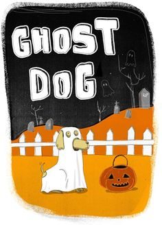 Dogs in Halloween by Erica Salcedo Saiz, via Behance