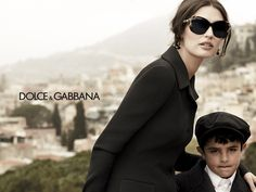 Green Pebbles A Passion for Luxury Fashion and Watches: DOLCE & GABBANA'S BEAUTIFUL EYEWEAR AD CAMPAIGN
