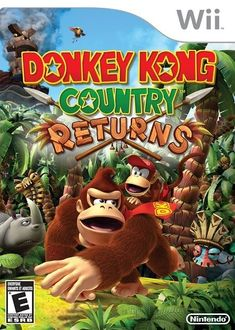 Nintendo Donkey Kong Country Returns -Wii U Wii U Games, All Games, Best Games, Games For Kids, Arcade Games, Nintendo 3ds, Nintendo Switch, Donkey Kong Country Returns, The Legend Of Zelda