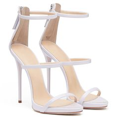 AIWEIYi Womens Stiletto High Heel Ankle Strap Dress Sandal Gold * You can get more details by clicking on the image.