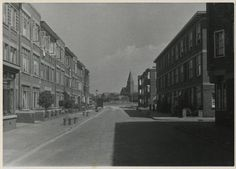 Good Old Times, The Hague, Netherlands, Holland, Street View, Black And White, History, City, Historical Photos