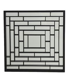 Look at this Mirrored Rectangles Wall Art on #zulily today!