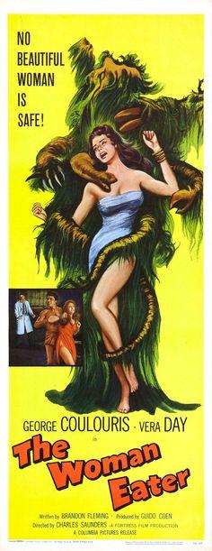 The Woman Eater (1958) Stars: George Coulouris, Vera Day, Peter Wayn, Joyce Gregg, Joy Webster, Jimmy Vaughn ~  Director: Charles Saunders