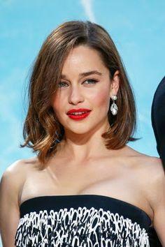 Emilia Clarke Got the New Bob Haircut We All Want This Summer