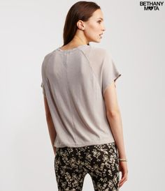 Floral Good Boxy Top -