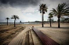 Barcelona Barcelona Beach, Places Ive Been, Sidewalk, Coast, Wanderlust, Community, Spaces, City, Awesome