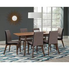 Coaster Furniture Coaster Redbridge 7 Piece Dining Table Set - COA3240