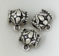 Items similar to Link, Antique Silver, on Etsy Metal Beads, Antique Silver, Hanger, Cufflinks, Antiques, Etsy, Accessories, Antiquities, Clothes Hanger