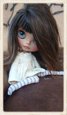 JUNO Ooak Custom Blythe Artist Doll by ByAlsw on Etsy