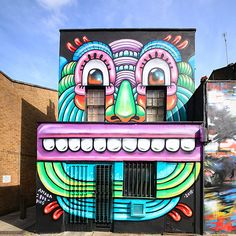 Join Camden Street Art Tours to see artists leaving their creative mark on the streets. More information at http://camdenstreetarttours.com/Art by Amara Por Dios