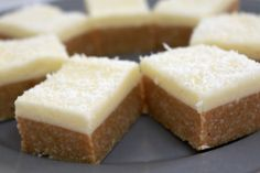 Lemon and Coconut No Bake Slice Recipe - absolutely delicious and couldn't be easier!