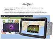JOYING 8″ Android 4.4.4 System Double 2 Din 1.8GHz Quad Core 1024600 Touch Screen Car Stereo Indash Radio Head Unit GPS with Navigation Bluetooth/Re-map Touch Key/Sleep Mode/Magic EQ/NFC