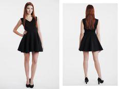 Mała czarna z wstawionym paskiem. Dostępna na naszej stronie internetowej! http://gantos.pl/…/su…/21-sukienka-z-wstawionym-paskiem.html