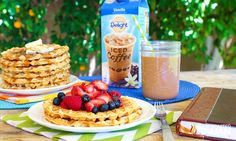 Light and Fluffy Buttermilk Waffles International Delight Iced Coffee, Buttermilk Waffles, The Slow Roasted Italian, Waffle Recipes, Cooking Light, Family Meals, Yum Yum, Food To Make, Breakfast Recipes