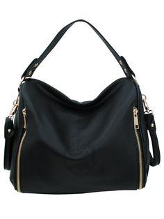 37a28c5ca06 Vanessa Black Shoulder Bag  koreanfashion  asianfashion  fashion  style   black  leather
