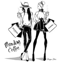 Megan Hess @meganhess_official It's Monday! May ...Instagram photo | Websta (Webstagram)