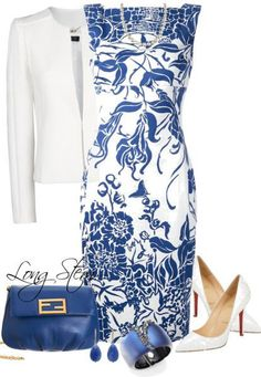 Featuring Emilio Pucci Dress by longstem on Polyvore