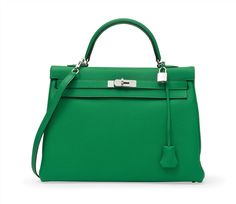 A Bamboo Leather Kelly Bag Hermés Hermes